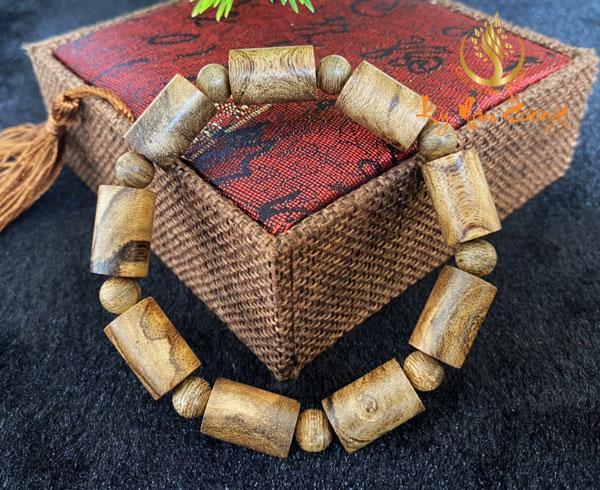 Vòng tay trầm hương - Trúc, Banh 10ly
