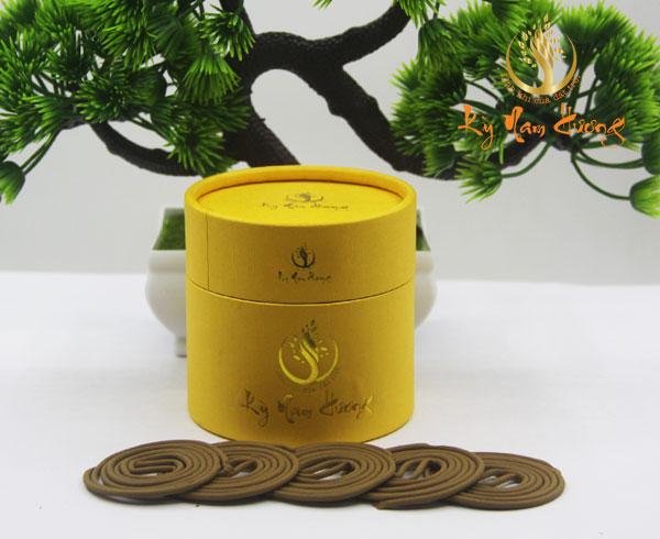 Trầm hương khoanh - Tài lộc nhị phẩm