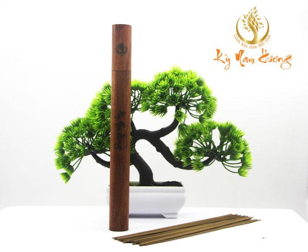 Hộp gỗ đựng nhang thanh